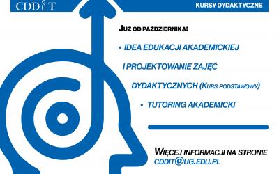 Oferta CDDiT na rok akademicki 2021/2022